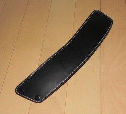画像1: 本革製 JOY-RING デラックスタイプ クッション付き肩パット部