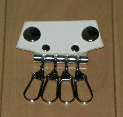 画像1: 本革製 キーホルダー(4連タイプ)