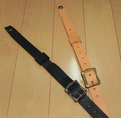 画像1:  本革製 J.R.Sストッパー 長さ調整機能付きタイプ