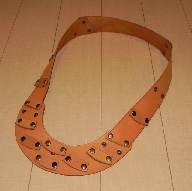 画像2: 本革製 JOY-RING スタンダードタイプ Lサイズフレーム 基本セット