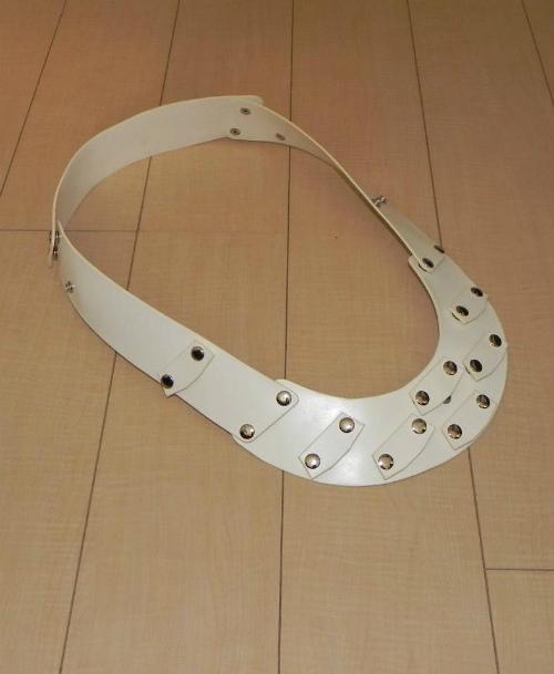 画像3: 本革製 JOY-RING スタンダードタイプ Mサイズフレーム 基本セット