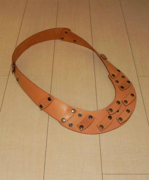 画像1: 本革製 JOY-RING スタンダードタイプ Mサイズフレーム 基本セット